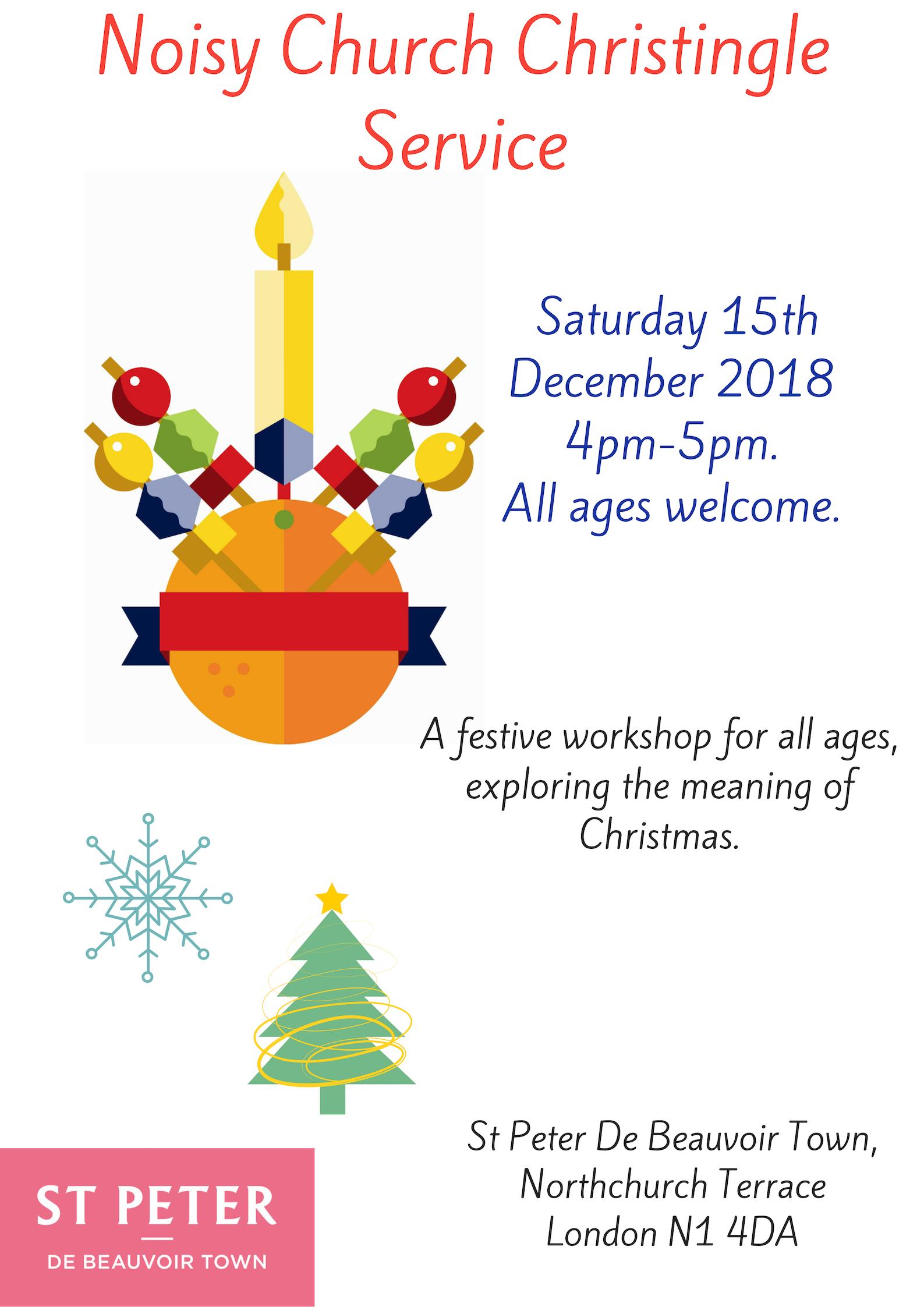 Noisy Church Christingle Poster