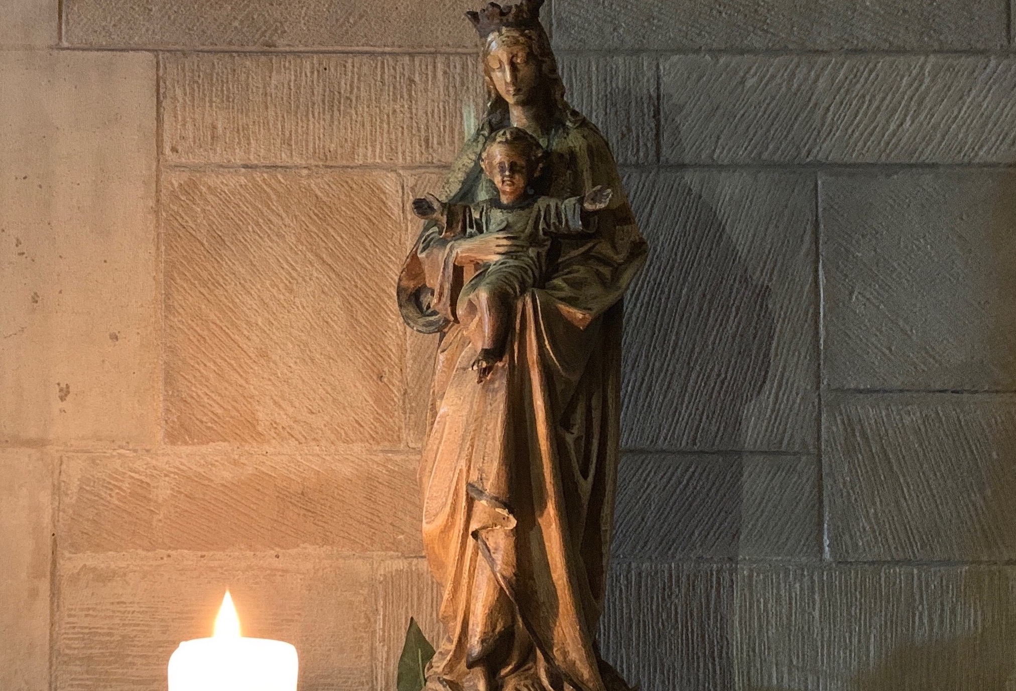Madonnna and child copy